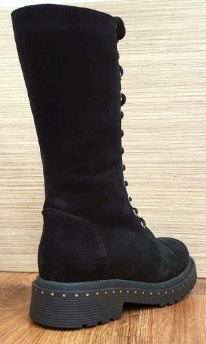 Cizme Dama Piele Naturala Negre Moda Prosper Ambrosia D02581 7