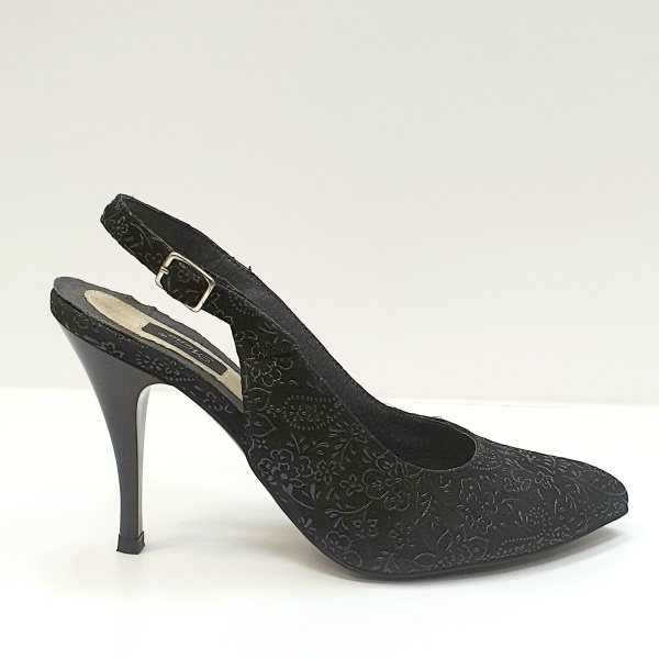 Pantofi Dama Piele Naturala Negri Jerusa D02624 0