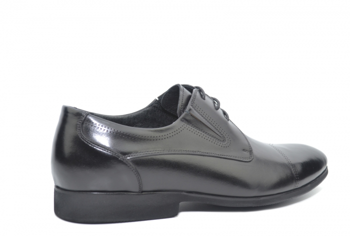 Pantofi Barbati Piele Naturala Negri Emanuel B00050 3
