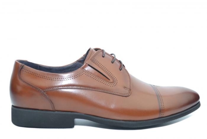 Pantofi Barbati Piele Naturala Maro Eliot B00049 0