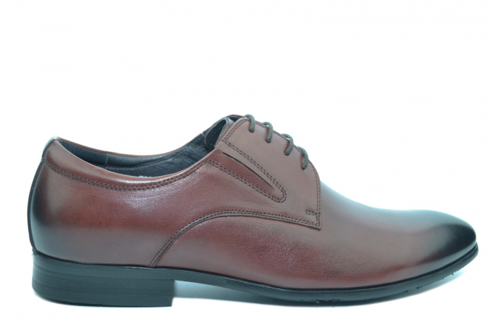Pantofi Barbati Piele Naturala Grena Antonio B00053 0