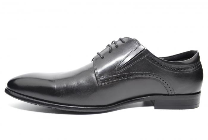 Pantofi Barbati Piele Naturala Negri Andrew B00026 [1]
