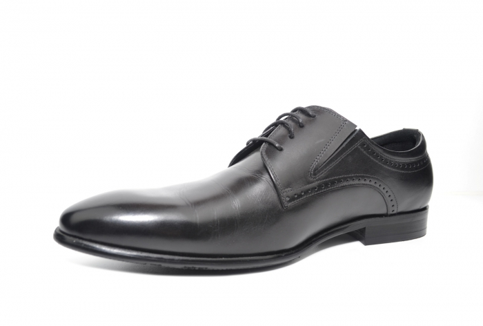 Pantofi Barbati Piele Naturala Negri Andrew B00026 [2]