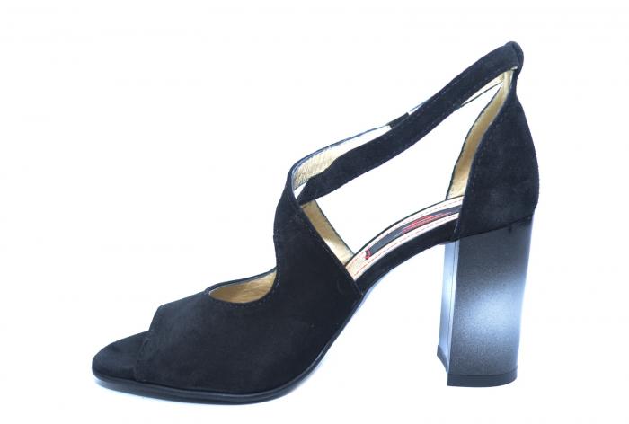 Pantofi Piele Naturala Negri Francisa [1]