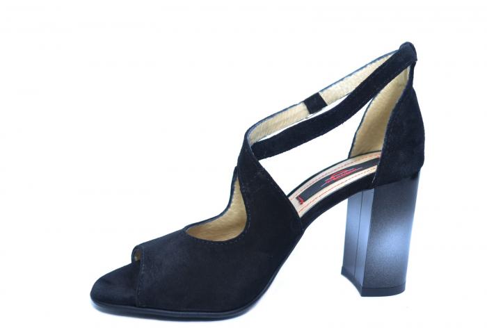 Pantofi Piele Naturala Negri Francisa [2]
