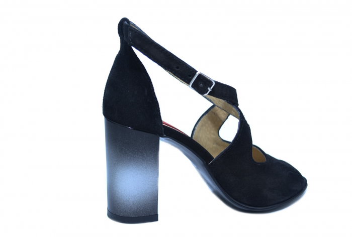 Pantofi Piele Naturala Negri Francisa [3]