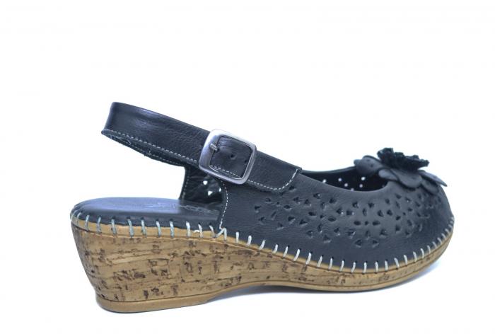 Sandale Piele Naturala Negre Natasha 3
