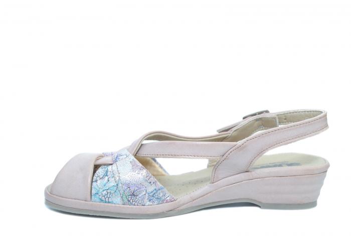 Sandale Piele Naturala Roze Hanna [1]
