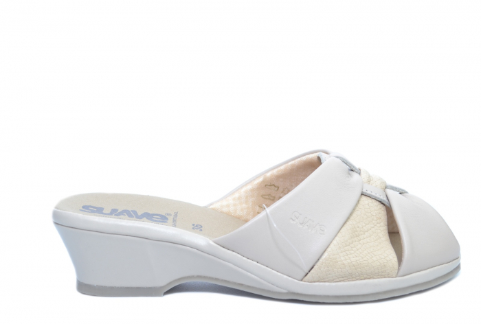 Sandale Piele Naturala Bej Magdalena D02279 [0]