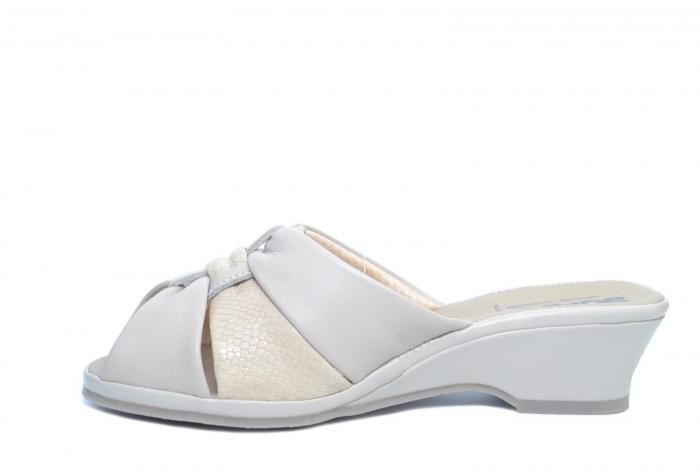 Sandale Piele Naturala Bej Magdalena D02279 [1]
