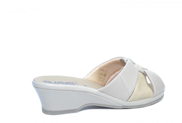 Sandale Piele Naturala Bej Magdalena D02279 [3]