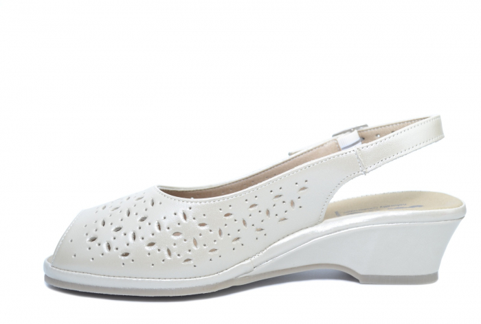 Sandale Piele Naturala Bej Amelie 1