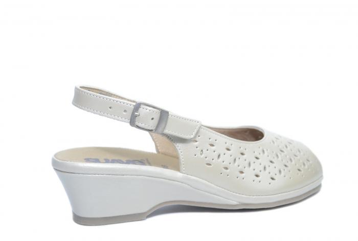 Sandale Piele Naturala Bej Amelie 3