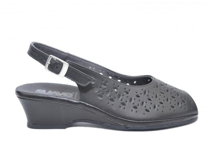 Sandale Piele Naturala Negre Antonella 0