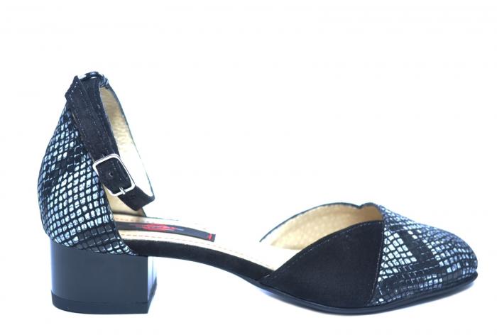 Pantofi Dama Piele Naturala Negri Renee D02222 0