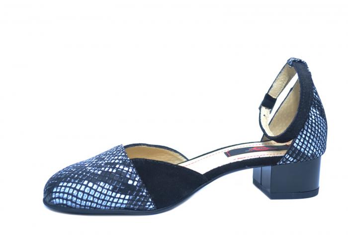 Pantofi Dama Piele Naturala Negri Renee D02222 2
