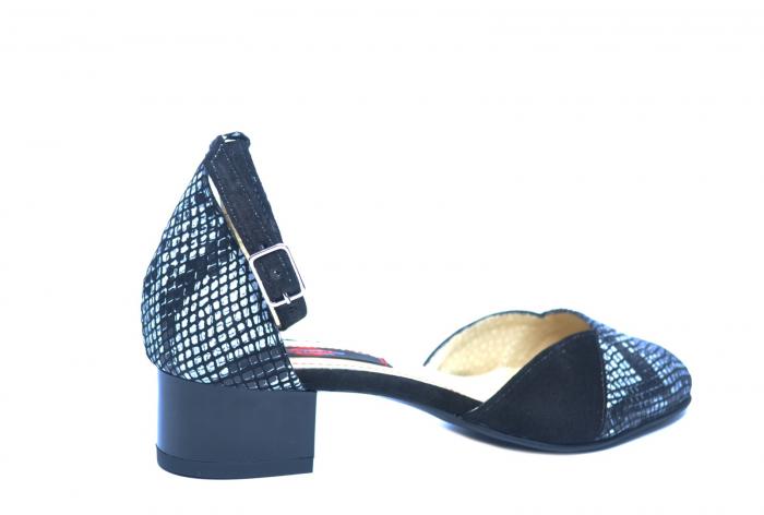 Pantofi Dama Piele Naturala Negri Renee D02222 3