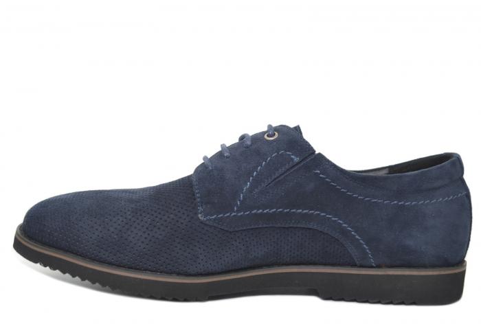 Pantofi Casual Barbati Piele Naturala Bleumarin Otter Damian B00028 1