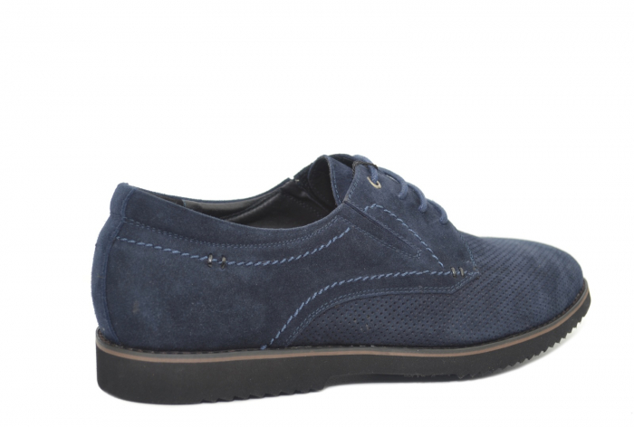 Pantofi Casual Barbati Piele Naturala Bleumarin Otter Damian B00028 3