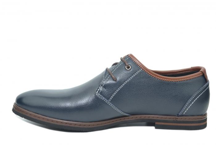Pantofi Barbati Piele Naturala Bleumarin Otter Iurie B00030 1