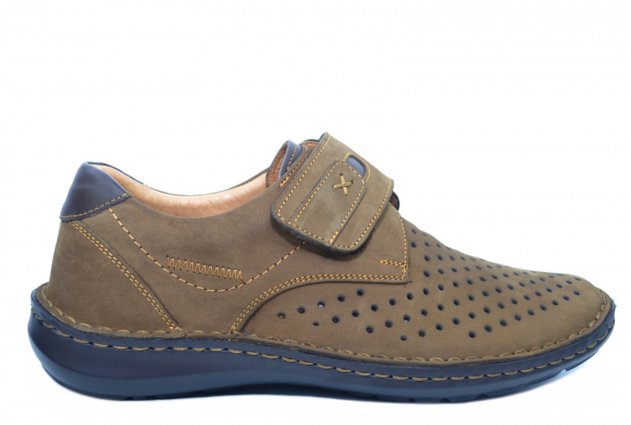 Pantofi Casual Barbati Piele Naturala Maro Esteban B00043 0