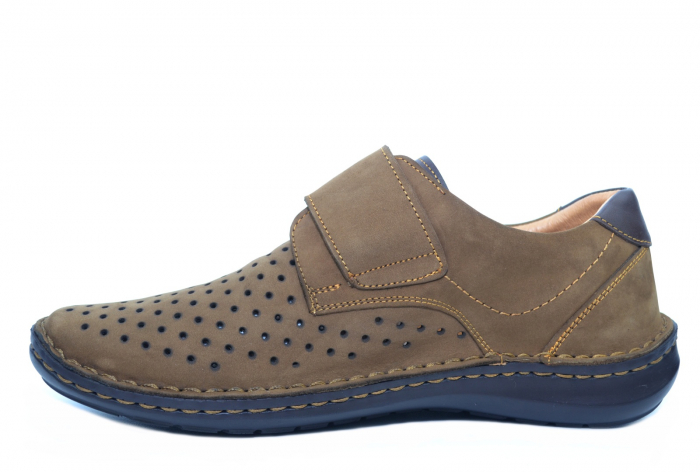 Pantofi Casual Barbati Piele Naturala Maro Esteban B00043 1