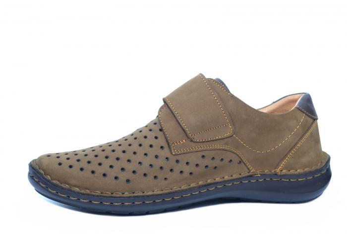 Pantofi Casual Barbati Piele Naturala Maro Esteban B00043 2