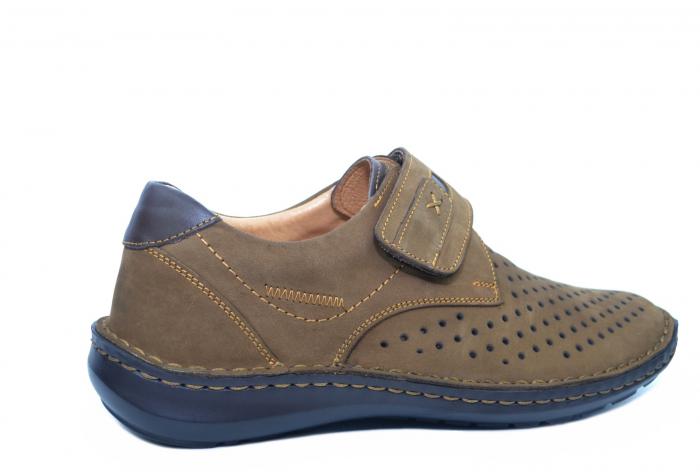 Pantofi Casual Barbati Piele Naturala Maro Esteban B00043 [3]