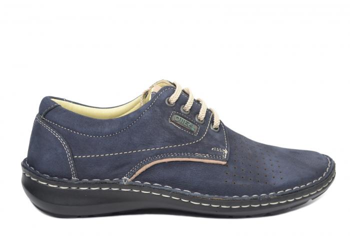 Pantofi Casual Barbati Piele Naturala Bleumarin Alexandru B00037 0