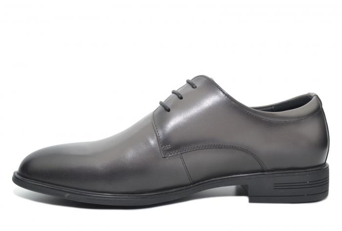 Pantofi Barbati Piele Naturala Gri Ernest B00048 1