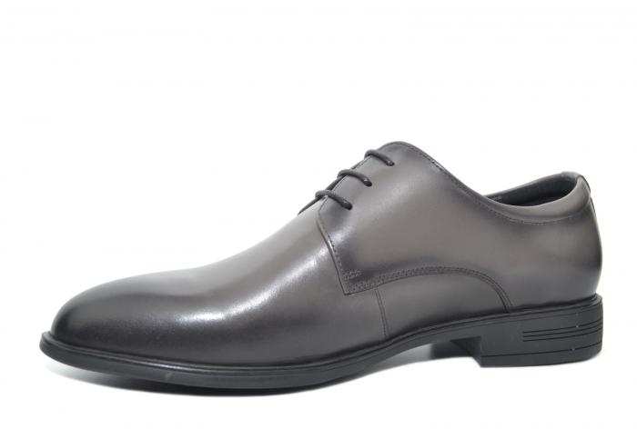 Pantofi Barbati Piele Naturala Gri Ernest B00048 2