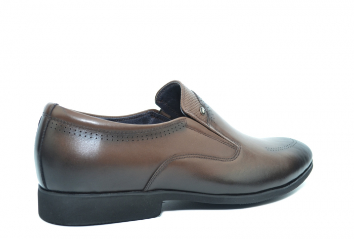 Pantofi Barbati Piele Naturala Maro Earl B00046 2