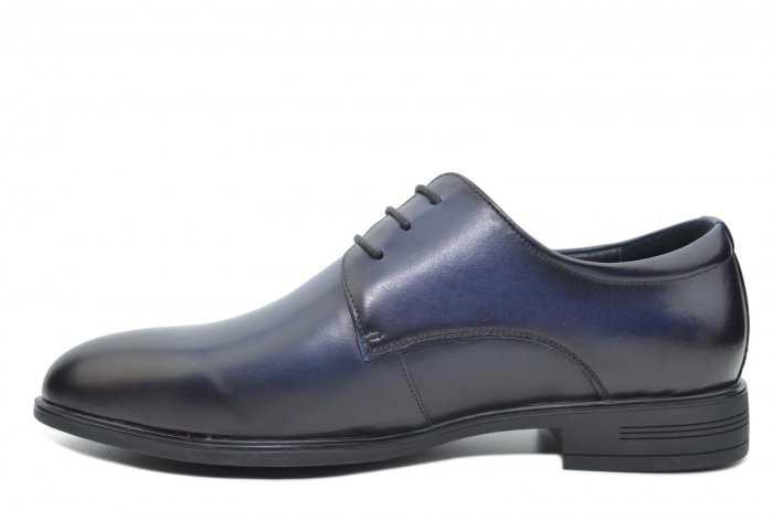 Pantofi Barbati Piele Naturala Bleumarin Enrique B00051 0