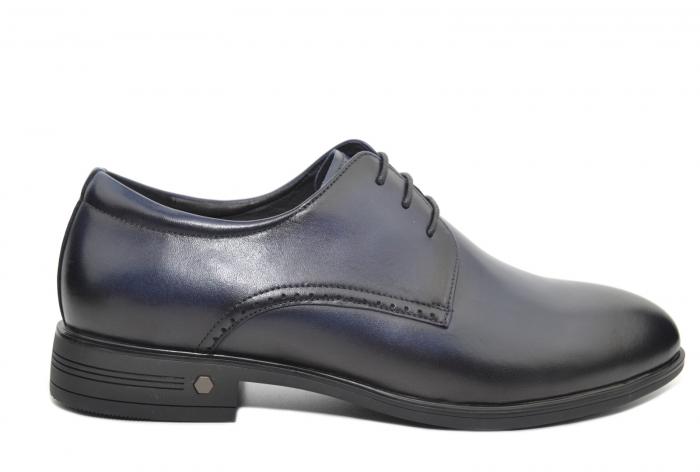 Pantofi Barbati Piele Naturala Bleumarin Enrique B00051 1