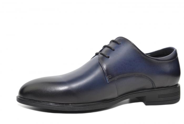 Pantofi Barbati Piele Naturala Bleumarin Enrique B00051 2