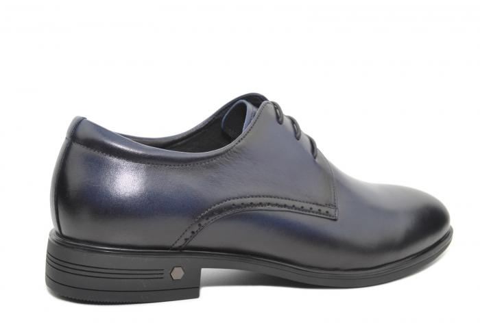 Pantofi Barbati Piele Naturala Bleumarin Enrique B00051 3