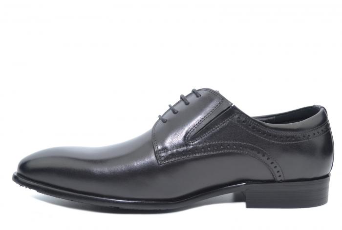 Pantofi Barbati Piele Naturala Negri Edison B00045 [1]