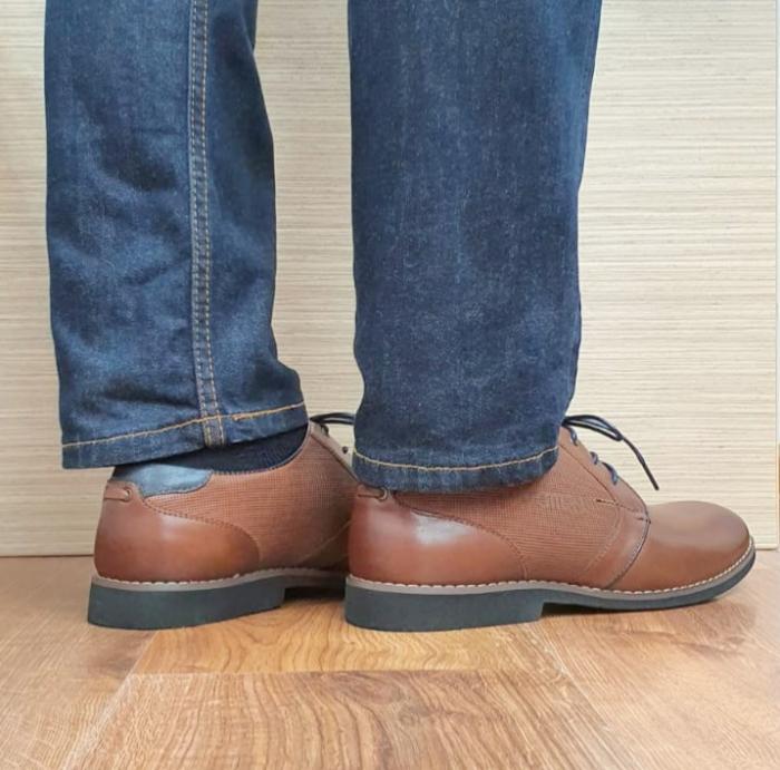 Pantofi Barbati Piele Naturala Otter Maro Narcis B00104 3