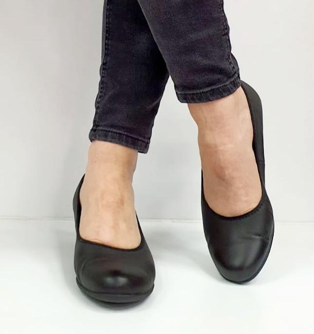 Pantofi cu toc Piele Naturala Negri Giovanna D02655 4