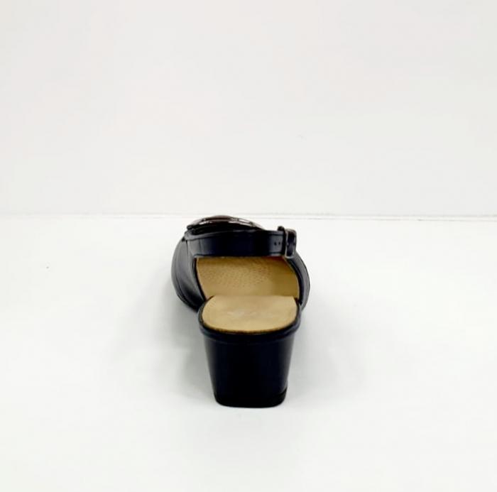 Pantofi Dama Piele Naturala Bleumarin Ara Karina D02656 9
