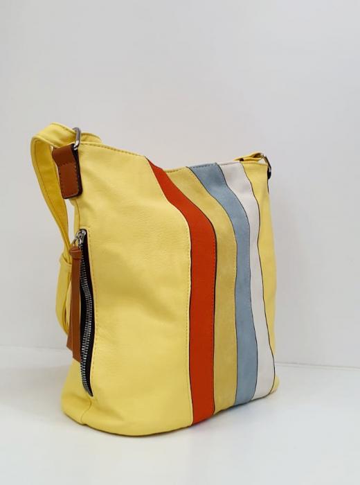 Geanta Dama Piele Multicolora Bega G00664 1