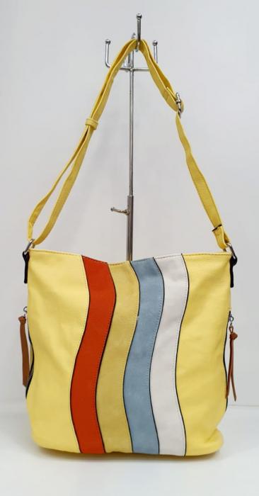 Geanta Dama Piele Multicolora Bega G00664 0