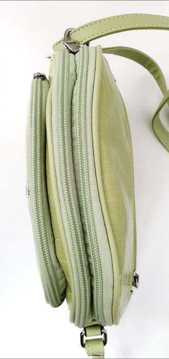 Geanta Dama Piele Verde Larisa G00724 4