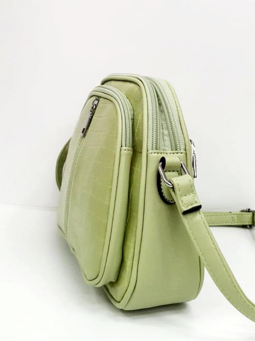 Geanta Dama Piele Verde Larisa G00724 3