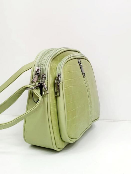 Geanta Dama Piele Verde Larisa G00724 2