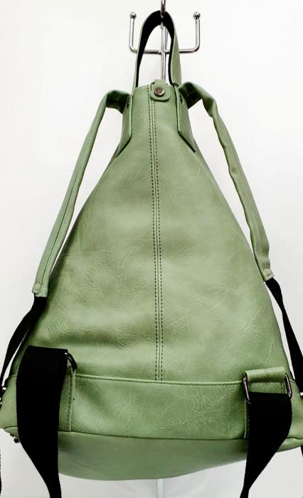 Rucsac Dama Piele Verde Mayara G00734 2