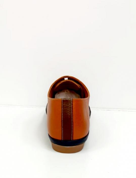 Pantofi Casual Piele Naturala Bleumarin Eluise D02699 8