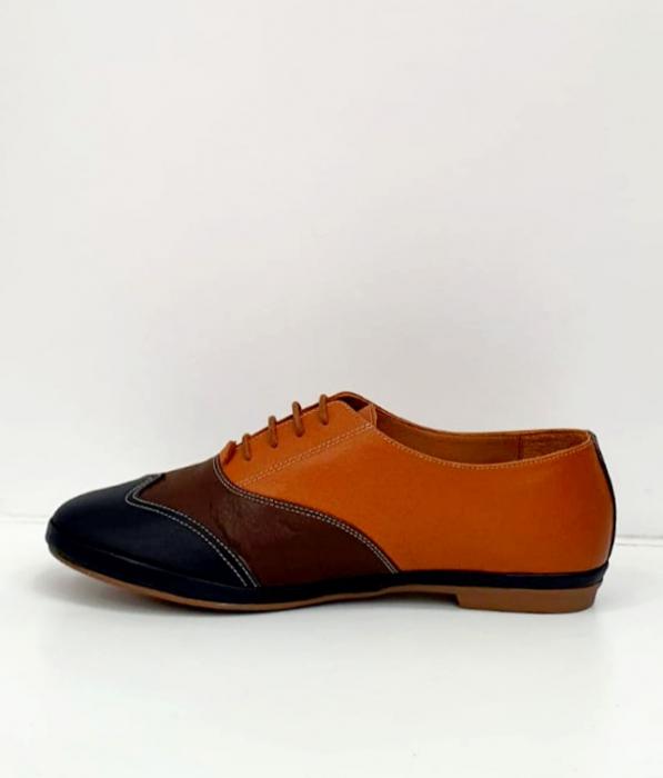 Pantofi Casual Piele Naturala Bleumarin Eluise D02699 7