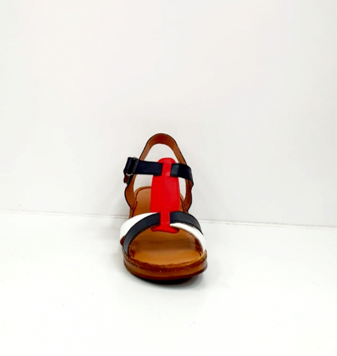 Sandale Dama Piele Naturala Negre Marilena D02702 8