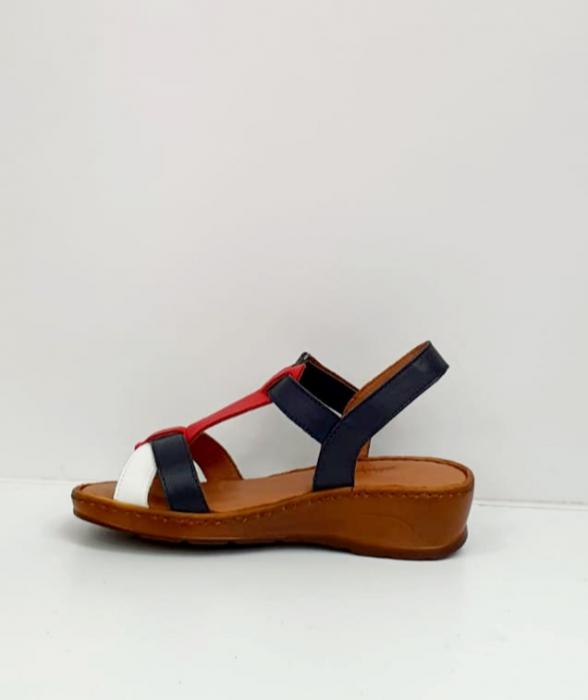 Sandale Dama Piele Naturala Negre Marilena D02702 6